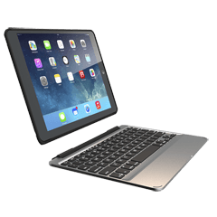 Slim Book Case with Keyboard for iPad Air