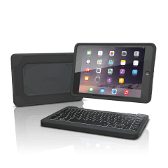 Rugged Book Case with Keyboard for iPad mini/2/3