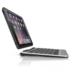 Slim Book Case with Keyboard for iPad mini/2/3