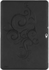 ZAGG LEATHERskin Black Embossed (Samsung Galaxy Tab 10.1)