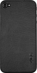 ZAGG LEATHERskin Black ZAGG Logo (Apple iPhone 4/4S)