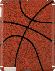 ZAGG sportLEATHER Brown Basketball (Apple iPad 3/4)