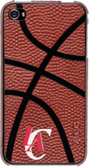 ZAGG NBA sportLEATHER Clippers Basketball (Apple iPhone 4/4S)
