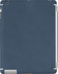 ZAGG LEATHERskin Authentic Navy Blue (Apple iPad 2) (New Color)