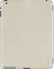 ZAGG LEATHERskin Authentic Cream (Apple iPad 3 (3rd Gen))