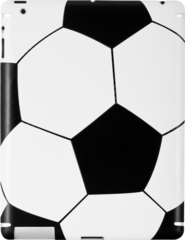 ZAGG LEATHERskin Soccerball (Apple iPad 2)