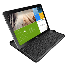 Cover-Fit Keyboard For Android Tablets