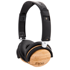 ZAGG Audio Travel Friendly Wood Headphones
