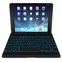 ZAGGkeys Cover for iPad Air