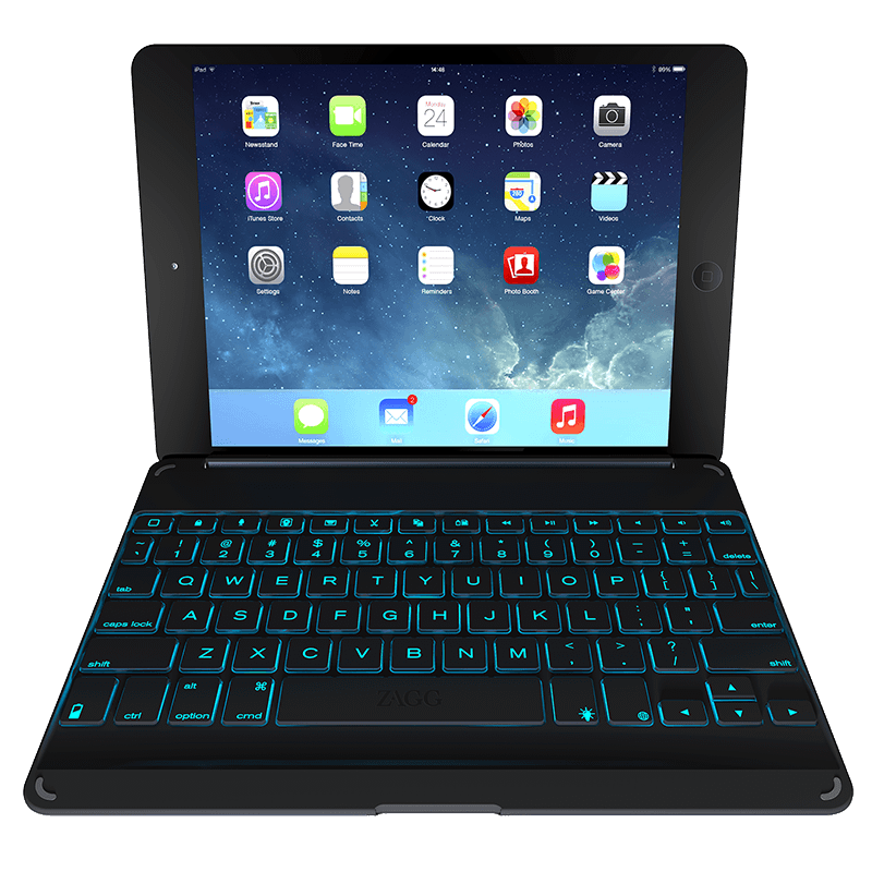 Zagg Cover with Bluetooth Keyboard