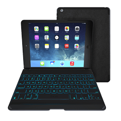 ZAGGkeys Folio w/Backlit Keyboard for iPad Air